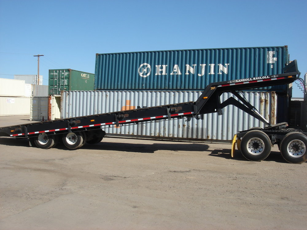 40 ft tilt bed delivery truck
