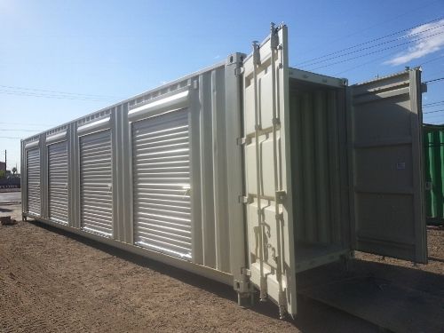 40Ft Container with roll-up doors