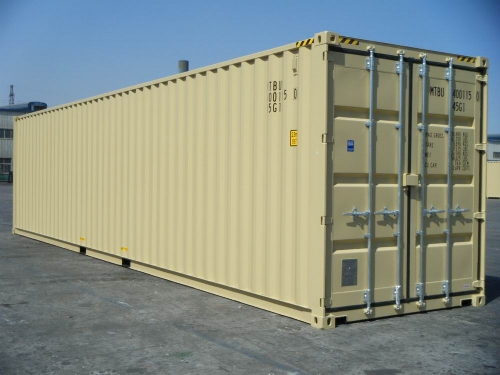New 40 foot units can be ordered year round.