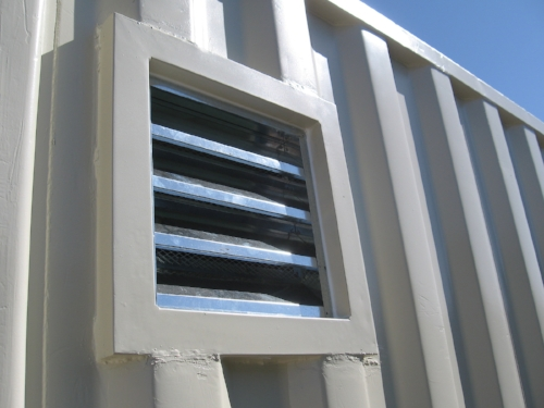 Side Louvered Vent great for ventilation work with roof vents