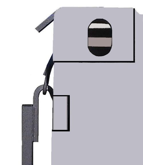 External Shelf hooks