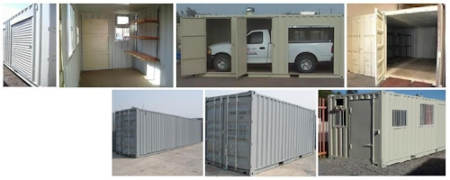 Customize your storage container with your choice of features.
