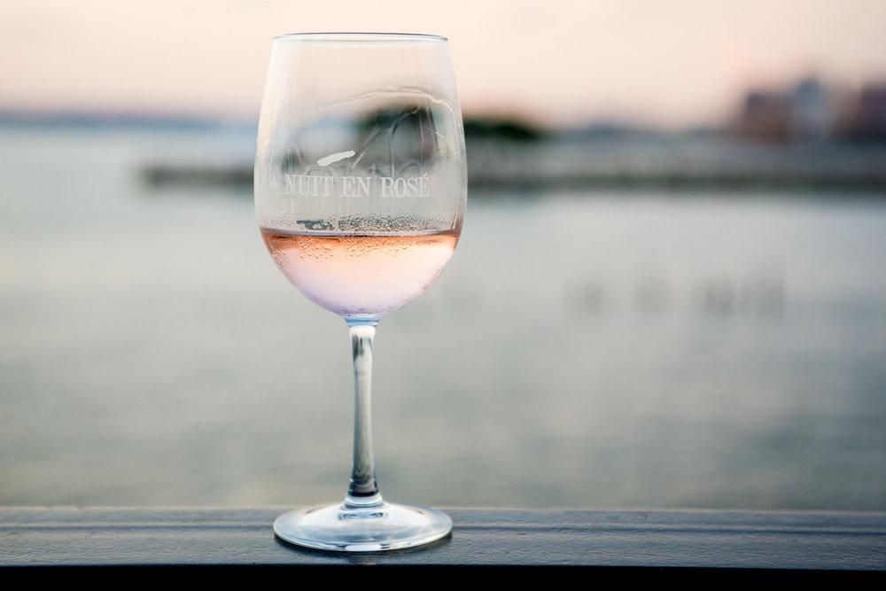 2017 wines  la nuit en rosé