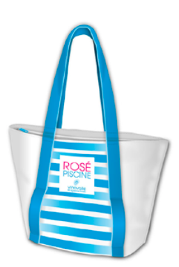 Rosé Piscine Thermally Insulated Beach Bag
