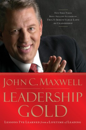 - Leadership Gold brims with nuggets of wisdom accumulated by John C. Maxwell during 30+ years of studying, practicing, and teaching leadership. Throughout these lessons, you'll encounter John's passionate belief in the value of leadership, and you'll benefit from his unique talent for articulating principles of influence.