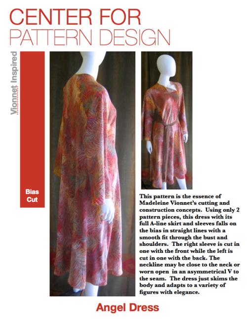 Angel Dress Bias Cut Pattern — CFPD