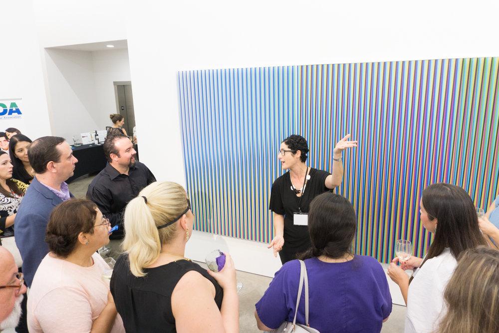 Art & wine networking event -- Sicardi | Ayers | Bacino Gallery