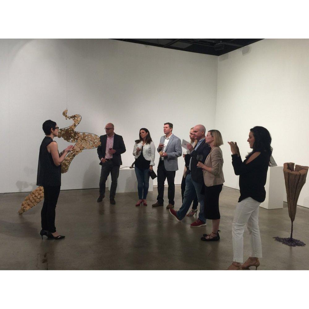 Art & Wine -- Cindy Lisica Gallery