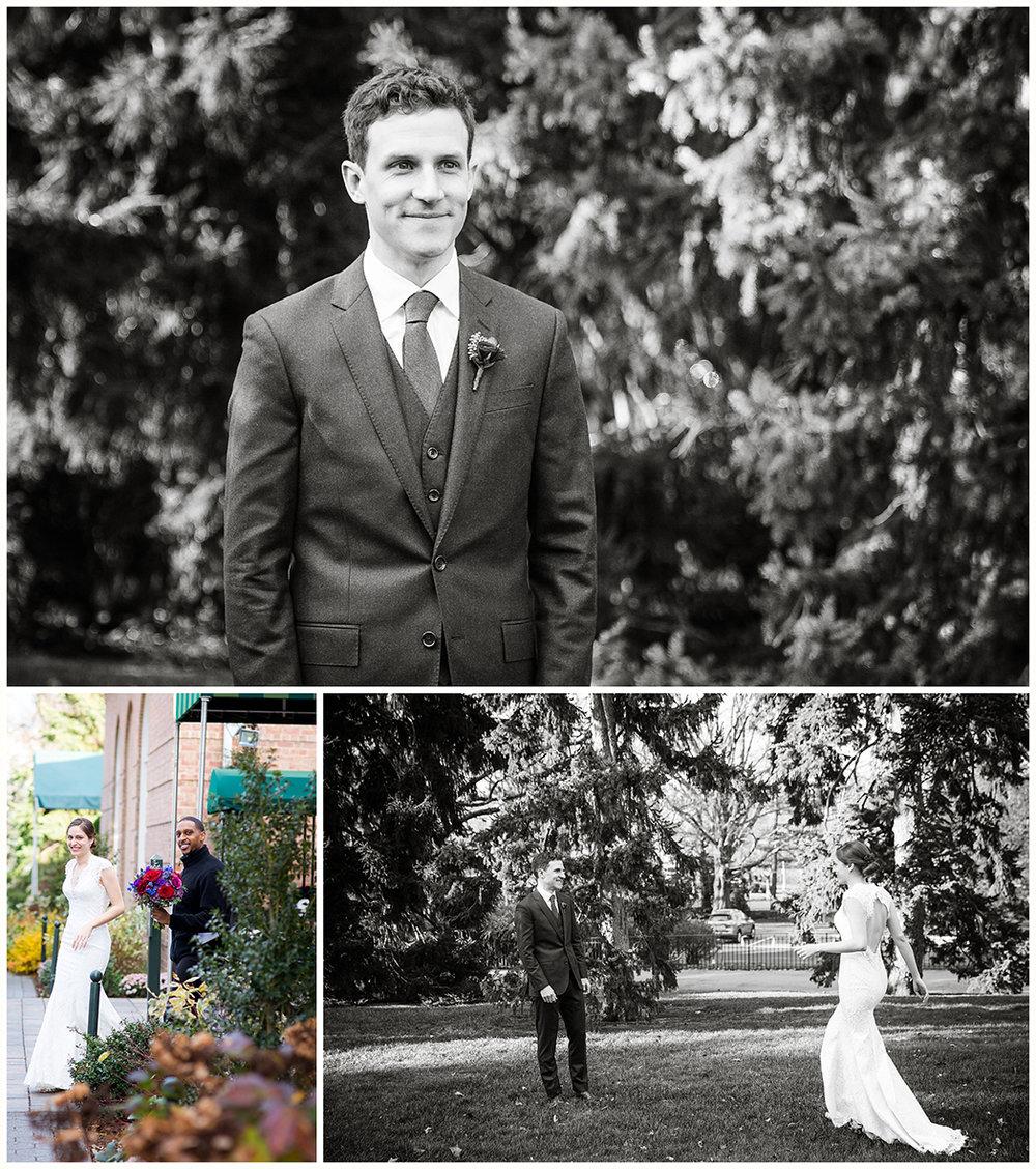 Josefine And Teddy A Winter Wedding At New York Botanical Garden