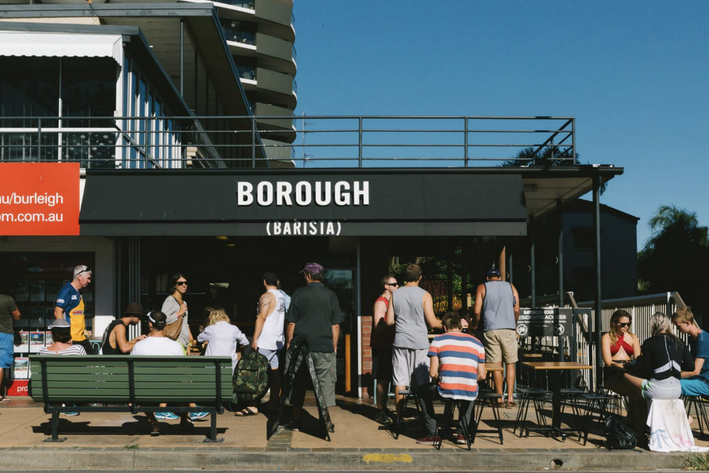 Borough Barista, Burleigh (above)