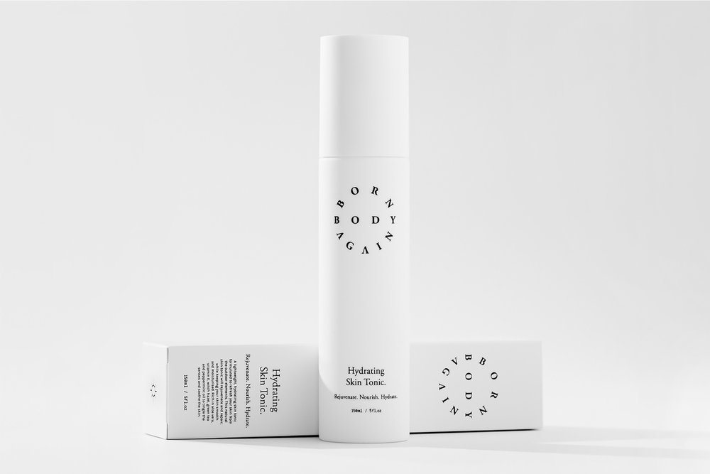 Born Again Body     www.bornagainbody.com.au     Born Again Body is a Brisbane company that uses all natural and vegan ingredients to create a unique skincare product that is light, yet deeply replenishing.