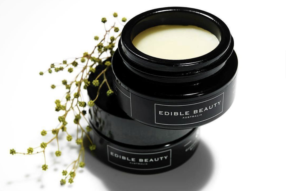 Edible Beauty Australia     www.ediblebeautyaustralia.com     Edible Beauty Australia  uses the highest quality pure botanical and wildcrafted ingredients to create beauty products that are both therapeutic and luxurious.