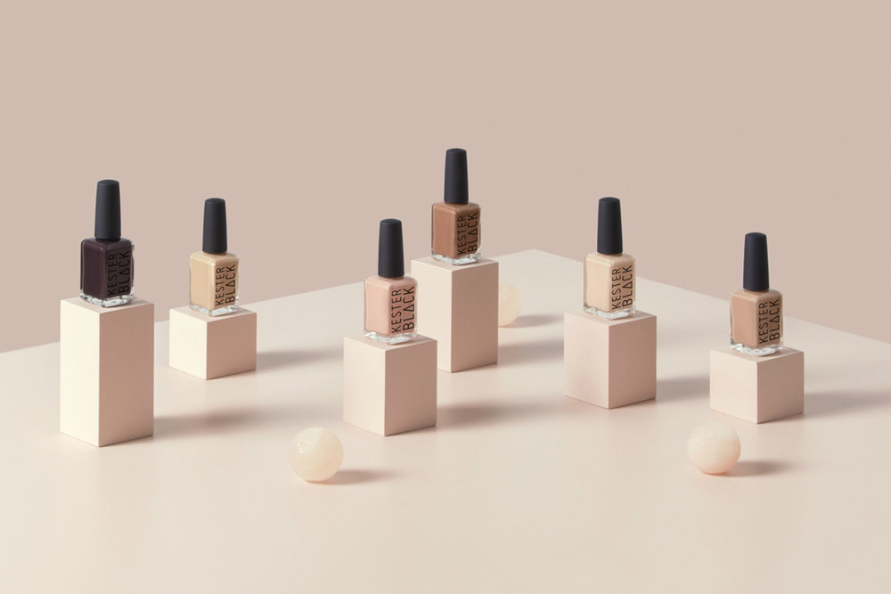 Kester Black      www.kesterblack.com     Kester Black  create ethical cosmetics that are the first in the world to obtain a number of accreditations such as Choose Cruelty Free, Vegan Society and Australian Made.