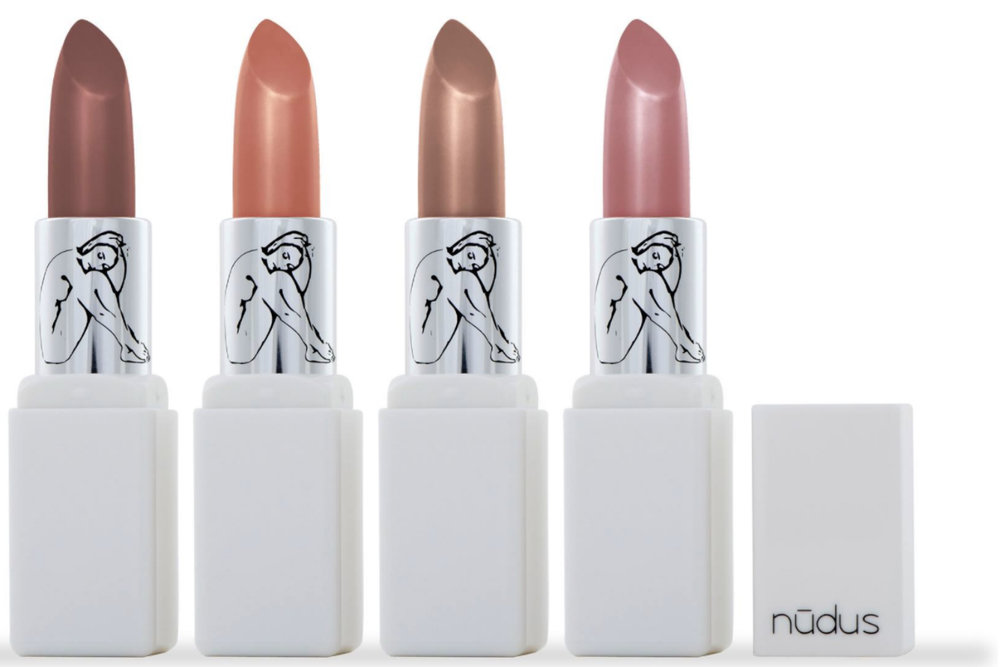 Nudus     www.nudus.com.au     Nudus  lipsticks feature a specially designed formula incorporating super foods, antioxidants, vitamins, essential fatty acids and high-end anti-ageing ingredients.