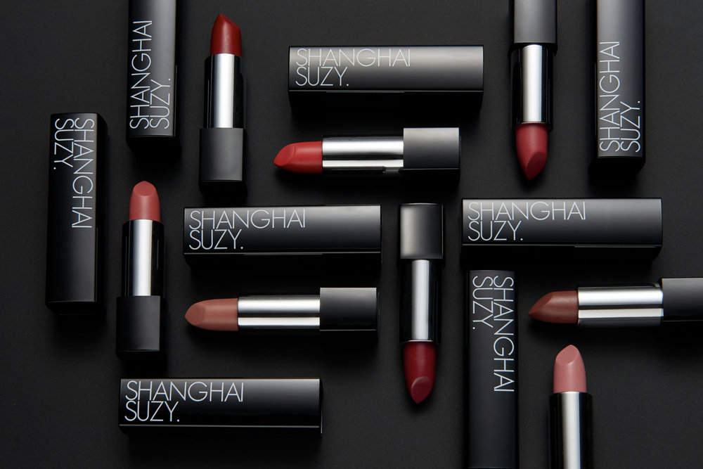 Shanghai Suzy      www.shanghaisuzy.com    Made with love in Melbourne,  Shanghai Suzy  create vegan, cruelty-free lipsticks and is one of Australia's leading lipstick brands.