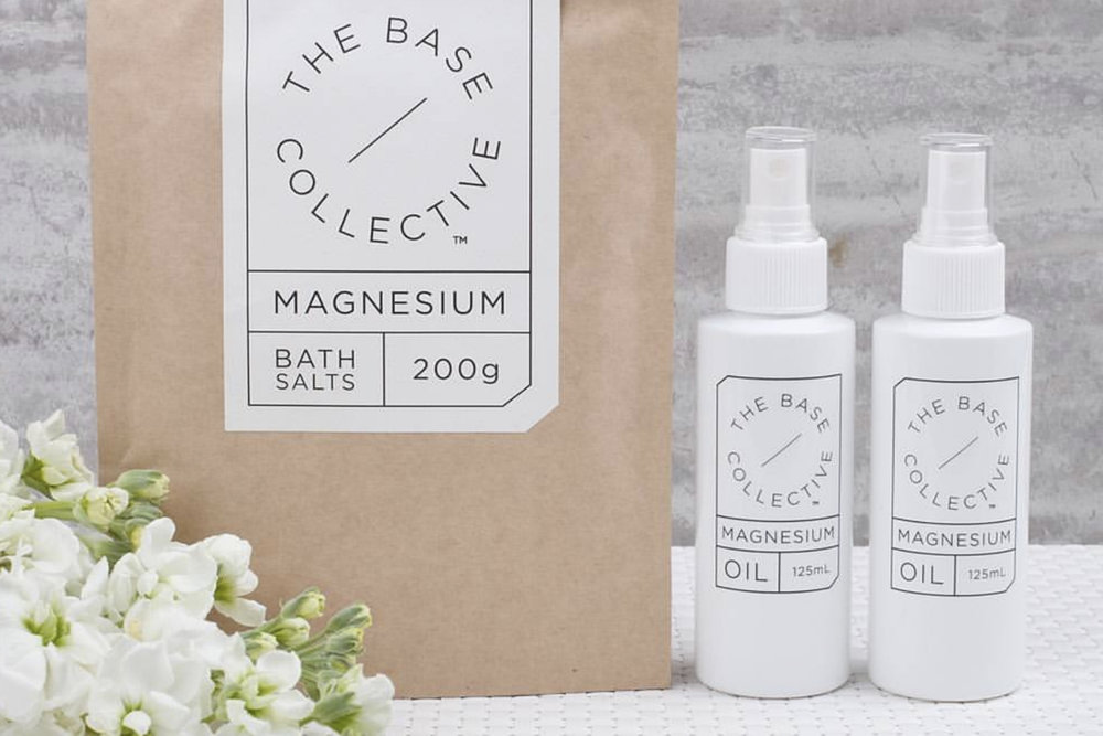 The Base Collective     www.thebasecollective.com.au    Melbourne's  The Base Collective  believe they can help you 'feel good from the outside in' all thanks to their natural and organic magnesium skincare products.