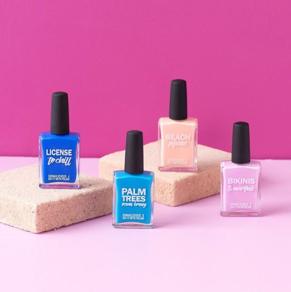 Say it With Polish     www.sayitwithpolish.com.au    Polish that makes a statement and a difference,  Say it with Polish  is made in Australia, five free, cruelty free and vegan.