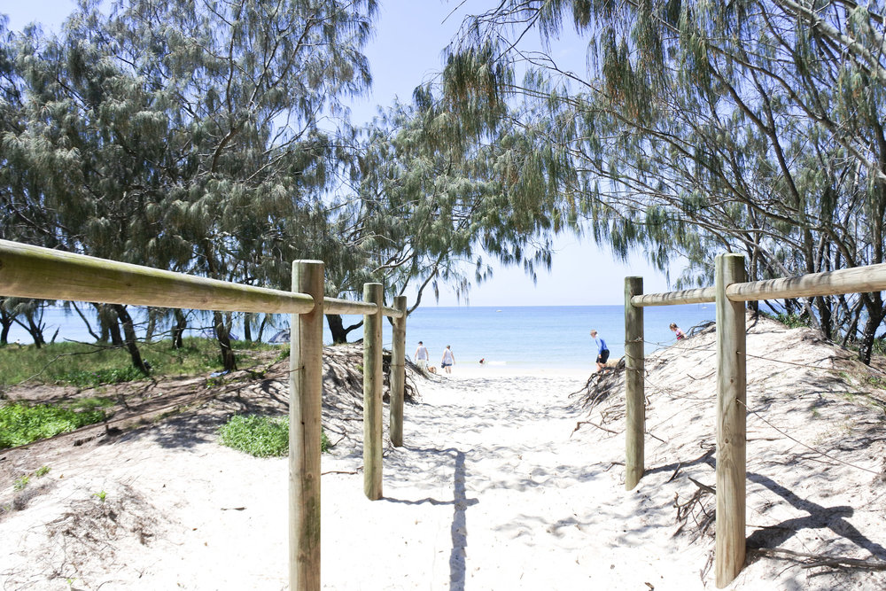 red beach, bribie island, brisbane, queensland
