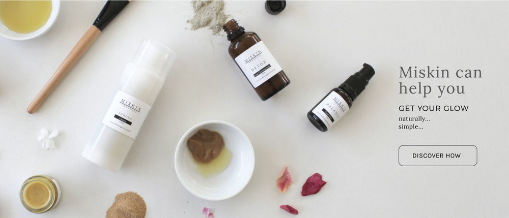 Miskin Organics     www.miskinorganics.com.au     Miskin Organics  provide simple, skin-specific blends that use traditional and cutting-edge certified organic botanicals that work in harmony with your skin.