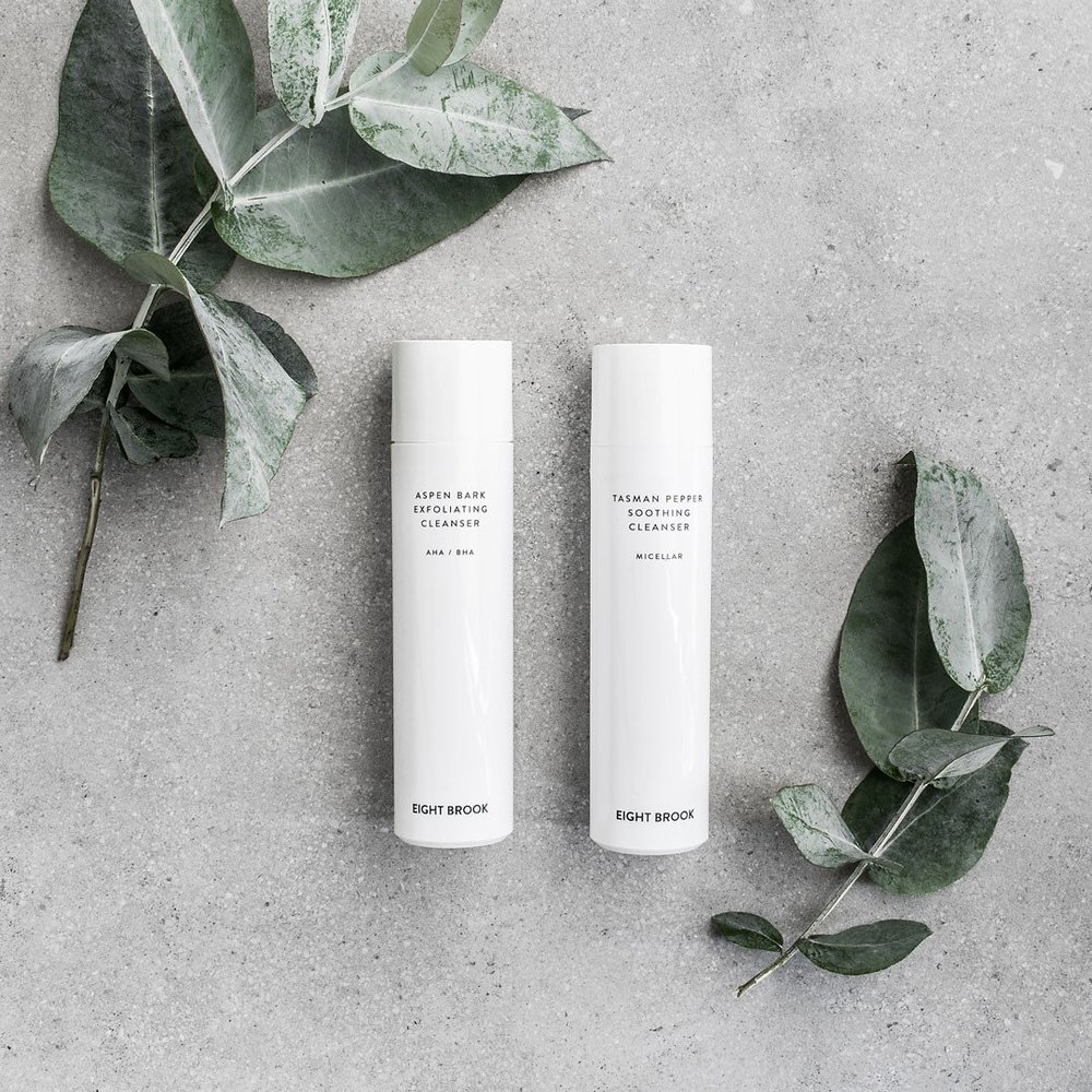 Eight Brook     www.eightbrook.com     Eight Brook  are dedicated to making minimalist active skincare that is beautifully designed and crafted from quality materials.