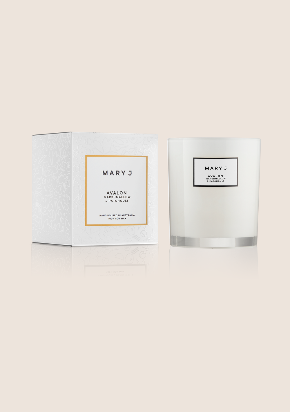 Mary J     www.maryj.com.au    Perth's  Mary J  create handcrafted, natural soy candles and diffusers.