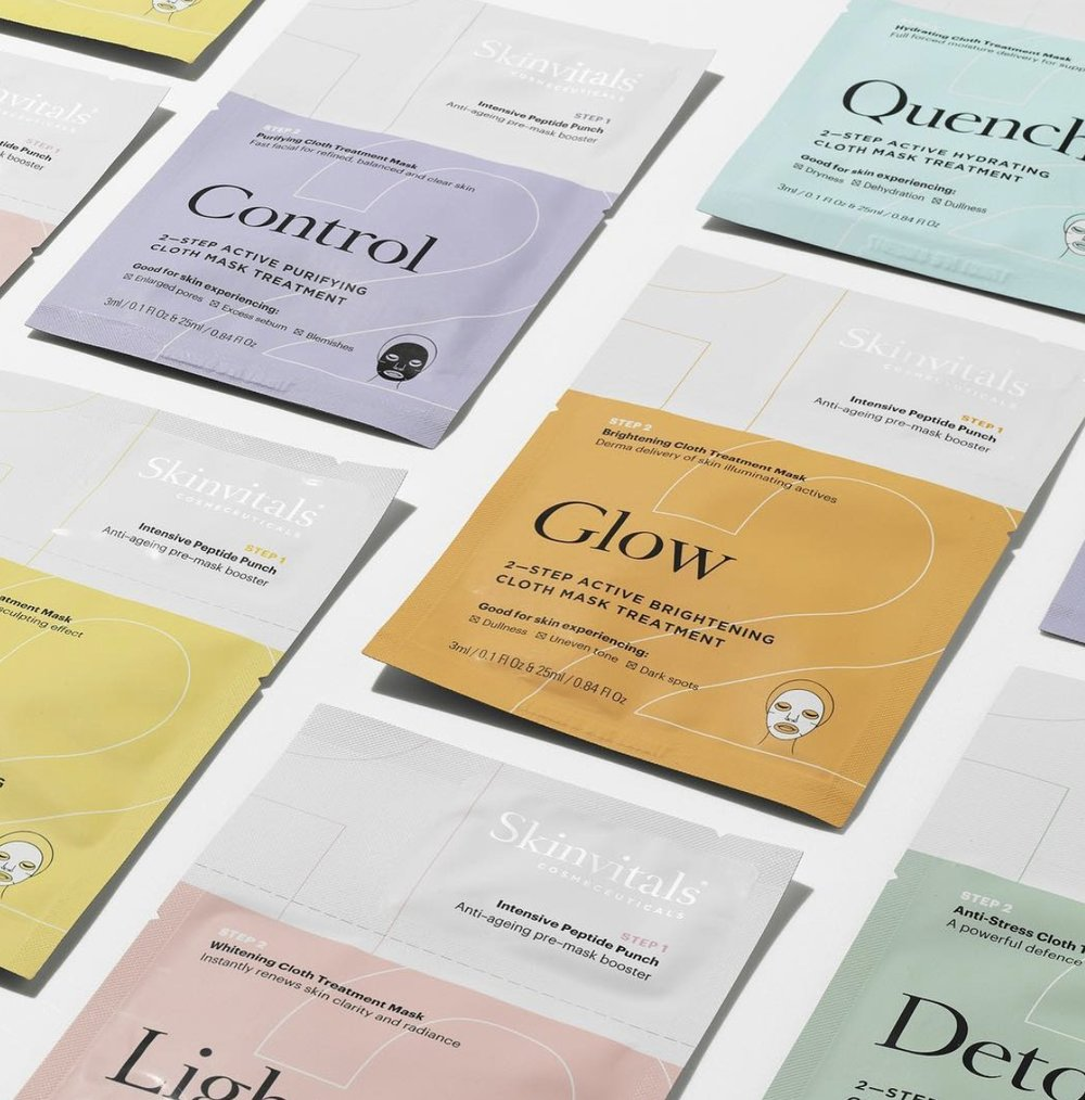Skinvitals     www.skinvitalsmasks.com     Skinvitals  is the original sheet mask brand to launch in Australia in 2005. Their prescriptive two-step facial masks draw on the latest scientific technologies to deliver real results