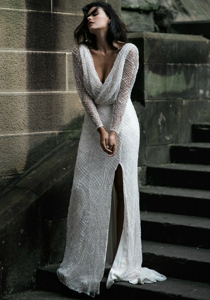 Moria Hughes     www.moirahughes.com.au    Sydney's  Moira Hughes  was born from a love affair of perfectly fitted wedding gowns, an eye for detail, attention to fit, and creating gowns that allow the brides personality to shine through.