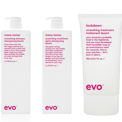Evo Hair     www.evohair.com     evo  create innovative hair products with integrity, personality and honesty. They aim to design products that 'save ordinary humans from themselves'.