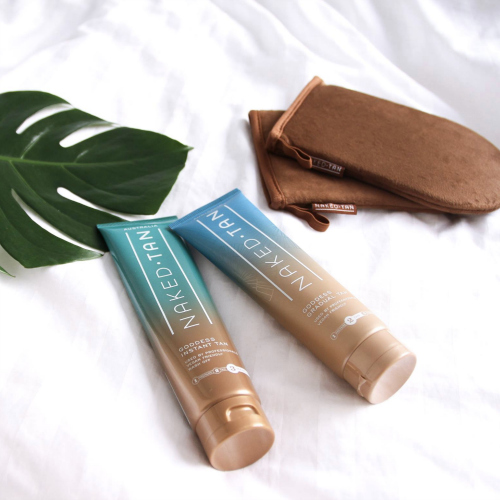 Naked Tan     www.nakedtan.com.au     Naked Tan  offers the latest technology in tanning whilst keeping true to their philosophy of formulating vegan friendly and natural products for the woman on the go.
