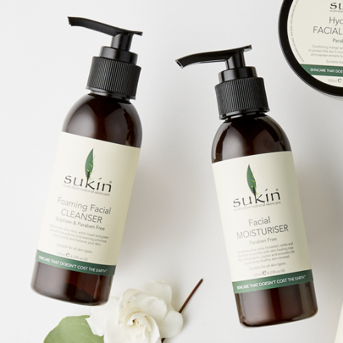 Sukin     www.sukinnaturals.com    Since 2007  Sukin  has been providing high efficacy, environmentally sustainable, affordable and natural skincare products.