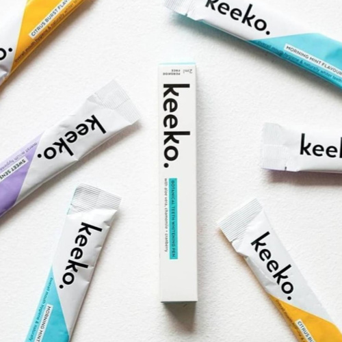 Keeko     www.keekooil.com    Say Sayonara to plaque and hello to cleaner whiter teeth thanks to  Keeko's  natural, vegan and cruelty-free oil products.