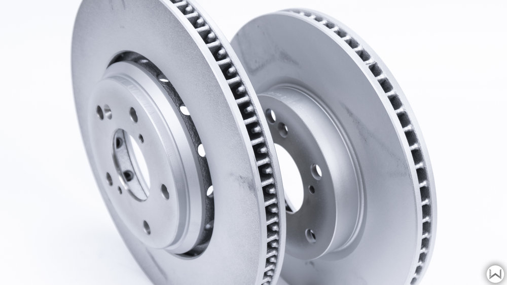 SI front rotor versus Hatchback Sport front rotor