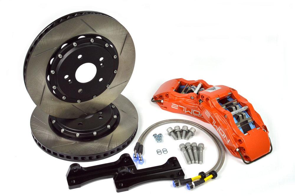 Rotors, lines, brackets, hardware