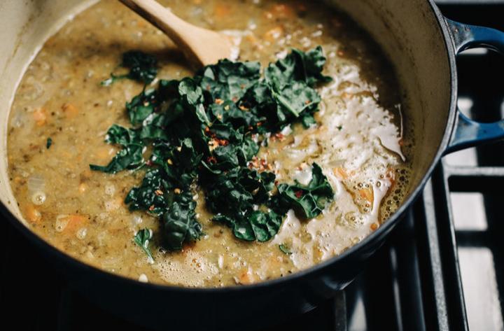 Everyday Lentil Soup -