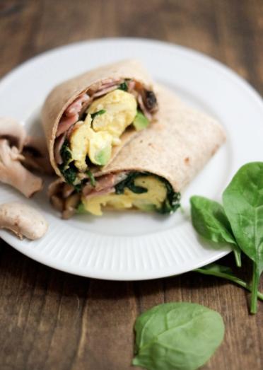 School Morning Breakfast Burrito Recipe -
