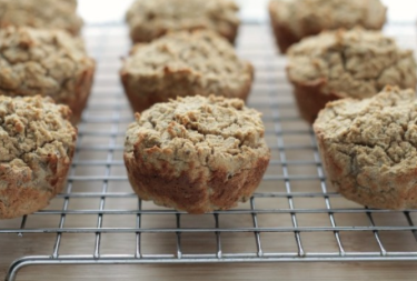 Grain-Free Applesauce Muffins -