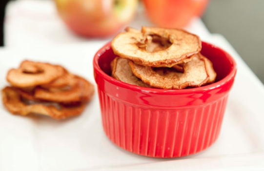 Homemade Cinnamon Apple Chips -