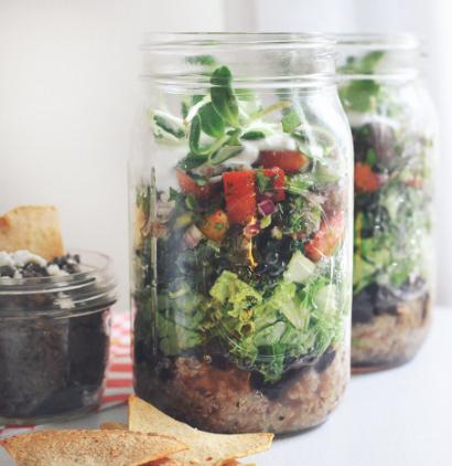 Superfood Burrito (in a jar) -