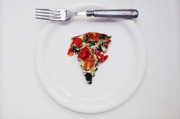 Leek and Spinach Frittata -