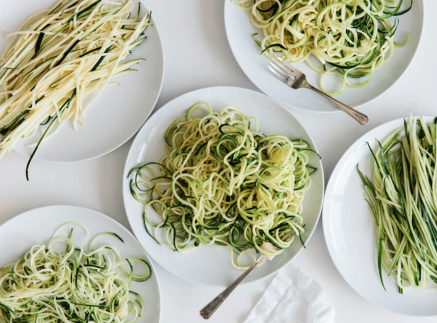 How to Make Zucchini Noodles -