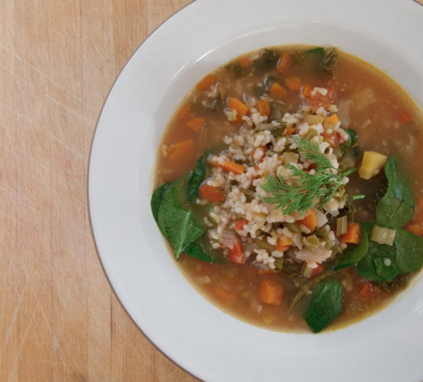 Hearty Vegetable Soup -