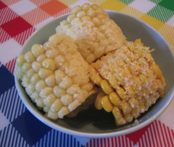 Cheesy Corn On the Cob -