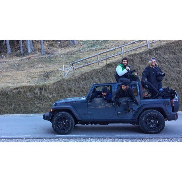There's only one - Docks crew filming for @jeep - • • • • #jeep #wrangler #jeeplife #jeepwrangler #offroad #dks #docksvideo #videoproduction #filming #camera #actionphotography #tvliving #seemycity #shooting #location #commercial #postproduction #igersmilano #filminglife #setlife #vscoedit #cinematographer #cinematic #lensporn #photogstyle #REDCC #redcamera #shotonred #reddragon #rubicon