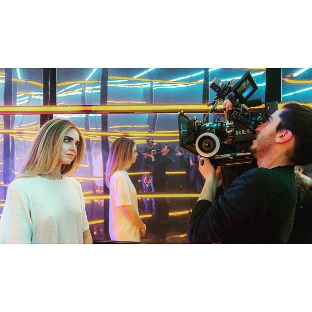 Today on set with @chiaraferragni for a new campaign!! • • • • #chiaraferragni #tbs #dks #docksvideo #videoproduction #filming #camera #fashion #actionphotography #tvliving #seemycity #shooting #videoproduction #location #commercial #postproduction #igersmilano #filminglife #setlife #vscoedit #cinematographer #cinematic #lensporn #photogstyle #REDCC #redcamera #fashionshoot #fashionphotography #shotonred #reddragon