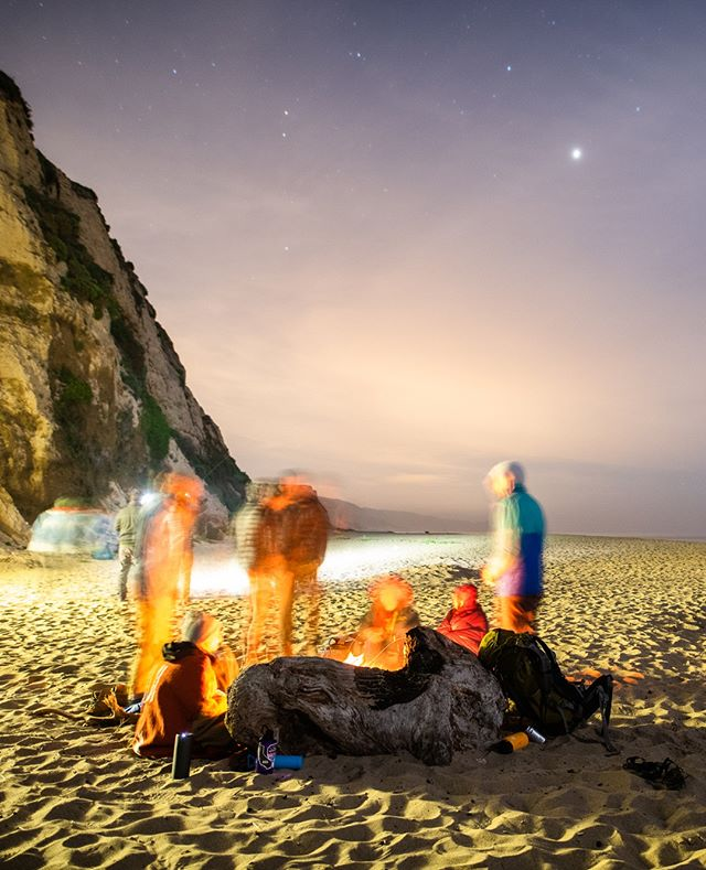 Late night, beach night ⛱️ . . . . . #becauseoutside #naturelovers #wearestillwild #getoutstayout #getoutside #candymountaincollective #welivetoexplore #keepitwild #wildernessculture #pointreyes