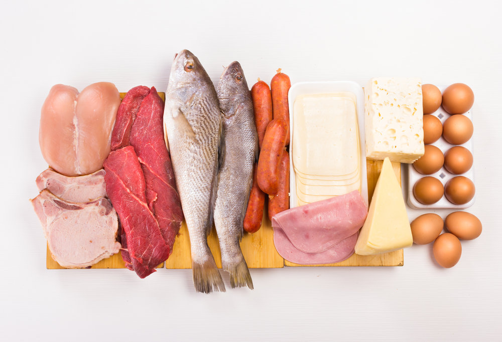 Variety of proteins: chicken, pork chops, meat, fish, sausages, ham, cheese, eggs.  180Physique  fitness  gym  excercise  diet  meal plan  nutrition  supplements  advocare  competition  posing  personal training  group training  fit pregnancy  fit mom  180fitsquad  grocery  healthy  lifestyle  recipes  organic  online training  virtual training  natural  balance  Oklahoma  Oklahoma city  OKC  family friendly  diversity