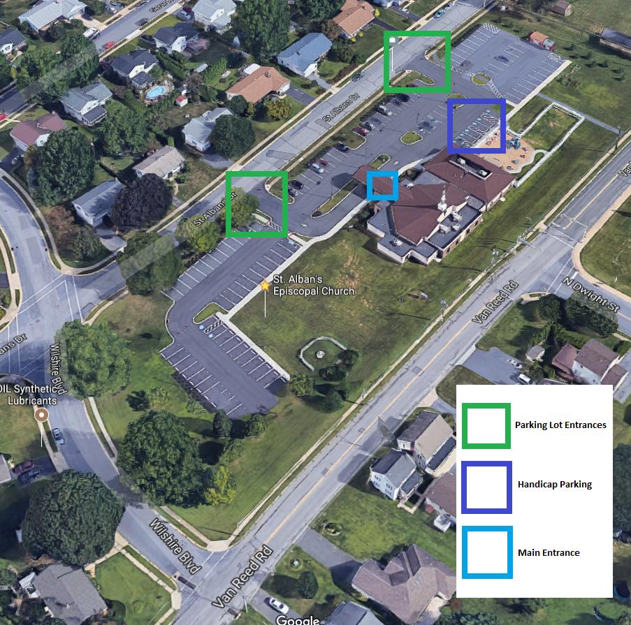 Parking Lot Map Contact u0026 Map u2014