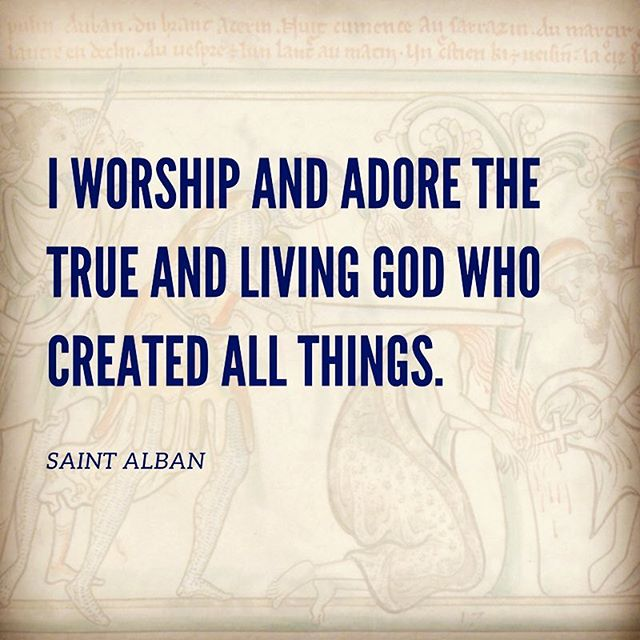 The martyrdom of St. Alban #alban #martyr #episcopal #sinkingspring