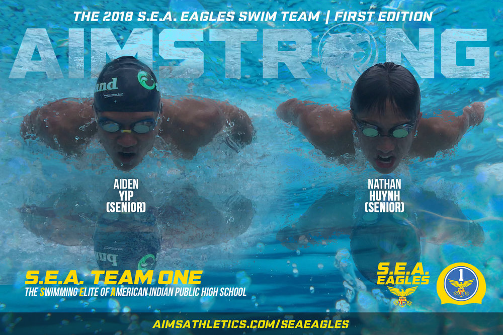 S.E.A. Team One, the first Swim Team at AIPHS, will look to make a splash in the OAL this season.