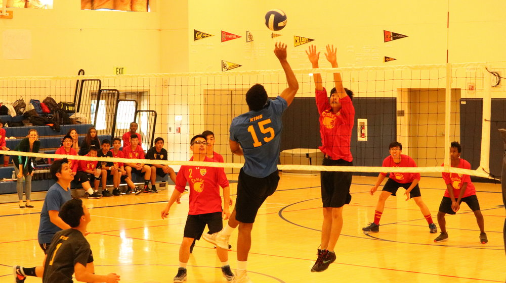 The Boys Volleyball team proved they can compete against top talent, despite their season-opener loss against Kipp King Collegiate.
